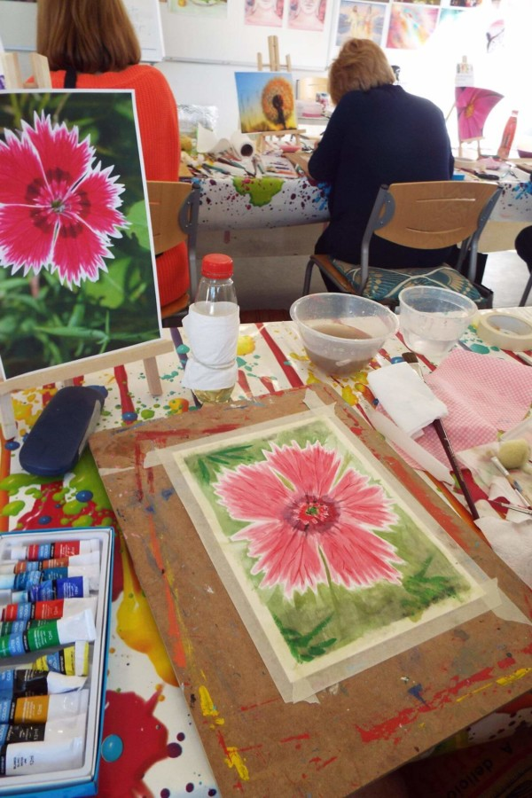 Art classes Canterbury